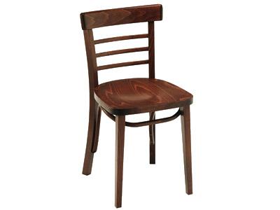 Mobiliario sillas madera silla cafetín 115 crom 2. catálogo crisol.