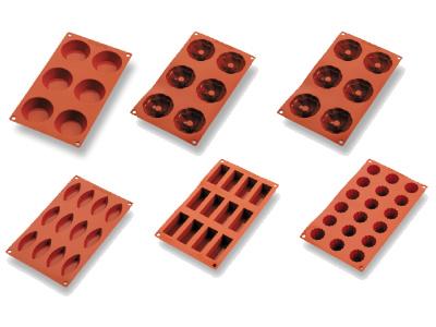 Moldes Gastroflex De Bourgeat Catálogo Pastelería Moldes Silicona